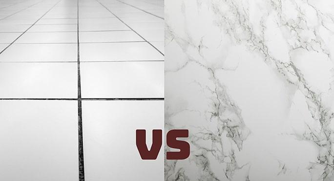Tiles vs Marble